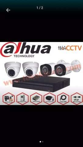 pemasangan paket kamera CCV paket kumplit Free pasang