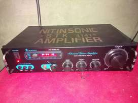 4.1ch Amplifier supports 12 woofer