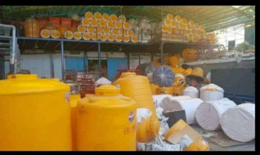 Tandon 1000 liter toren 5000 hdpe tebal bahan plastik penampungan air 0