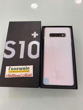 Samsung S10+ 128GB white 5 months old 100% Original mobile