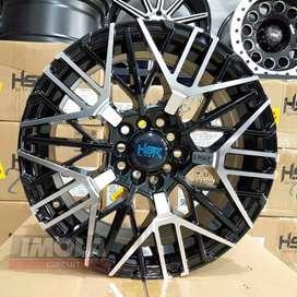 Velg mobil racing ertiga r16 HSR wheel pcd 5x100 dan 5x114,3 Gresik