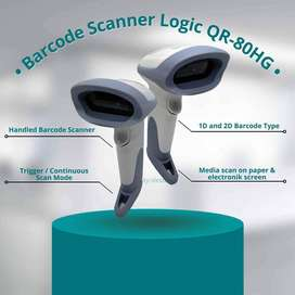 Barcode Scanner QR Terlaris Logic QR-80HG Baca Barcode Faktur Pajak
