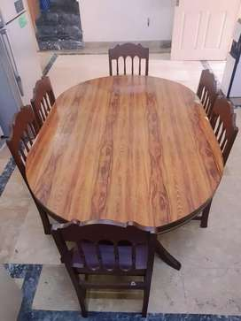 Dining table set (Solid wood)