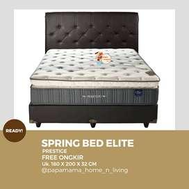 Elite Springbed Prestige Latex - Fullset Divan Random 180x200 -Medan