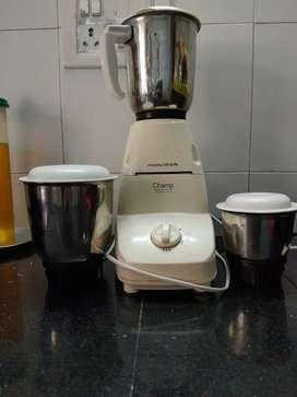 Morphy Richards mixer grinder  - 3 jar