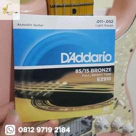 Senar Gitar Akustik D Addario EZ910 Acoustic Guitar Strings