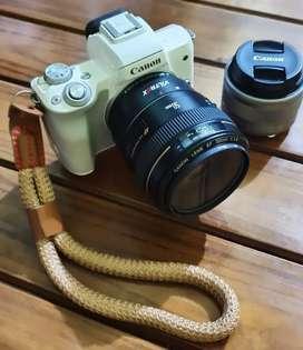 Canon M50 + Lensa Canon 50mm F1.4 USM