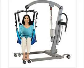 Unique compact bed lifter for bed patient.