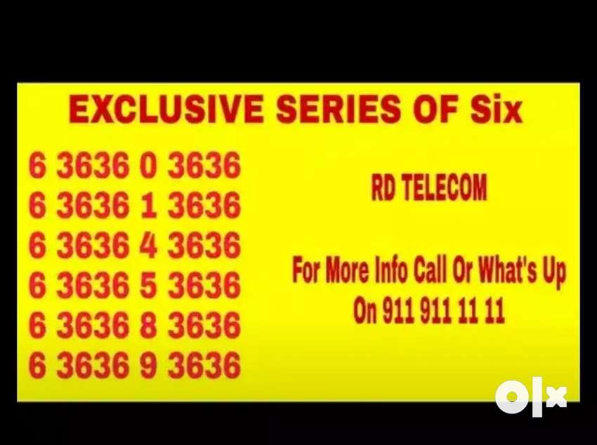 Premium vanity mobile numbers