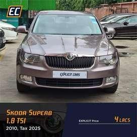 Skoda Superb 2008-2013 1.8 TSI, 2010, Petrol