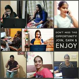 Work from home Opportunity for Ladies