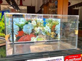 Ready aquarium 60x30x30 background