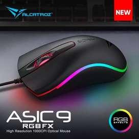 Mouse Gaming RGB Alcatroz Asic Pro 9