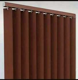 Kolom interior gorden model vertical blinds dll