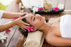 Spa massage therapist only female