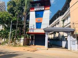 Aluva town bank junction 1.200cent 700sqft commercial building
