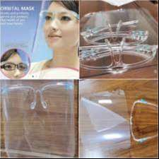 face shield kacamata termurah barang ready