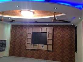 3 bhk furnished floor in uttam nagar Direction near metro station