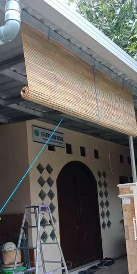 Tirai bambu gratis kirim