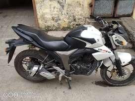 Suzuki gixxer mast bike