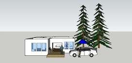 Desain rumah luas ± 157 M²