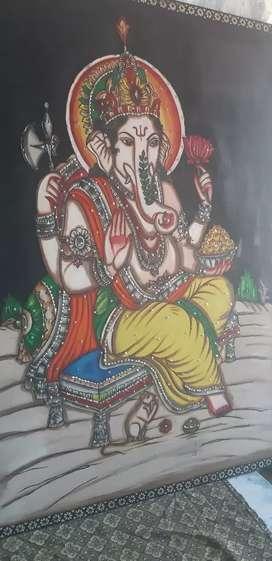Lord Ganesh modern art
