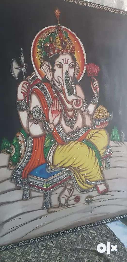 Lord Ganesh modern art 0