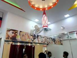 Lavish saloon commercial shop for sale in kharadi old mundhwa road