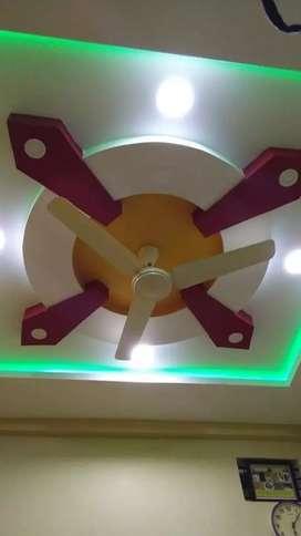 POP & PVC ceiling design contact