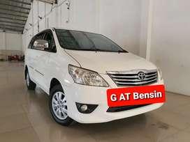 Toyota Innova 2.0 G AT 2013 Putih, SERVICE RECORD