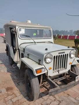 Mahindra Jeep 1992 Diesel 50000 Km Driven passing 2015 all original