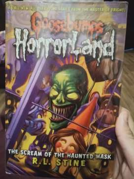 GOOSEBUMPS HORROR LAND scream of the haunted mask