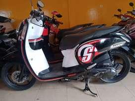 SAWO MOTOR _ HONDA SCOOPY PLAT KALTENG 2015. MESIN NYAMAN