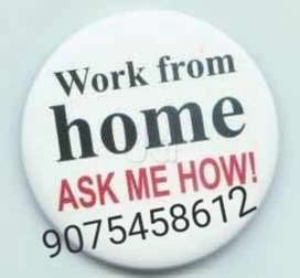 Do work from home and earn money