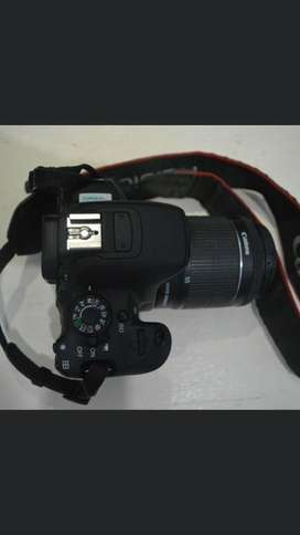 Jual canon 700d full set.
