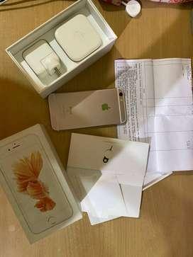 Iphone 6s rose gold 16 gb.