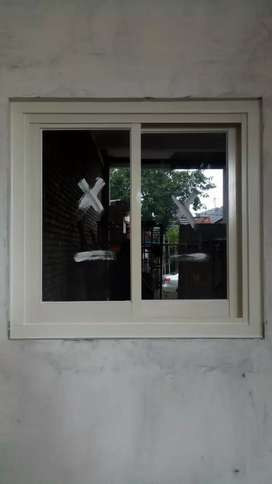 Jendela, kusen, jendela aluminium, jendela kaca, jendela geser