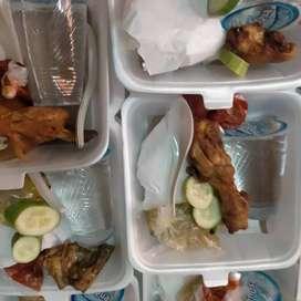 Nasi kotak tumpeng snack kue bisa live langsung order langsung kirim