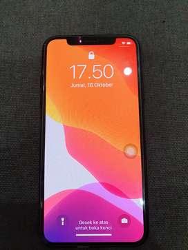 Di jual iphone x 256 Gb ( black )