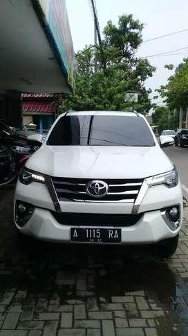 Toyota Fortuner VRZ 2017, Tangan pertama, km 19rb, pajak 06-2022