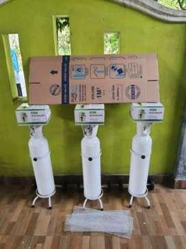 Tabung oksigen 1 set lengkap ukuran 1 m3 (baru)