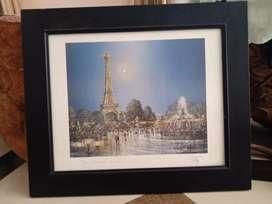 Monochrome Bingkai Paris