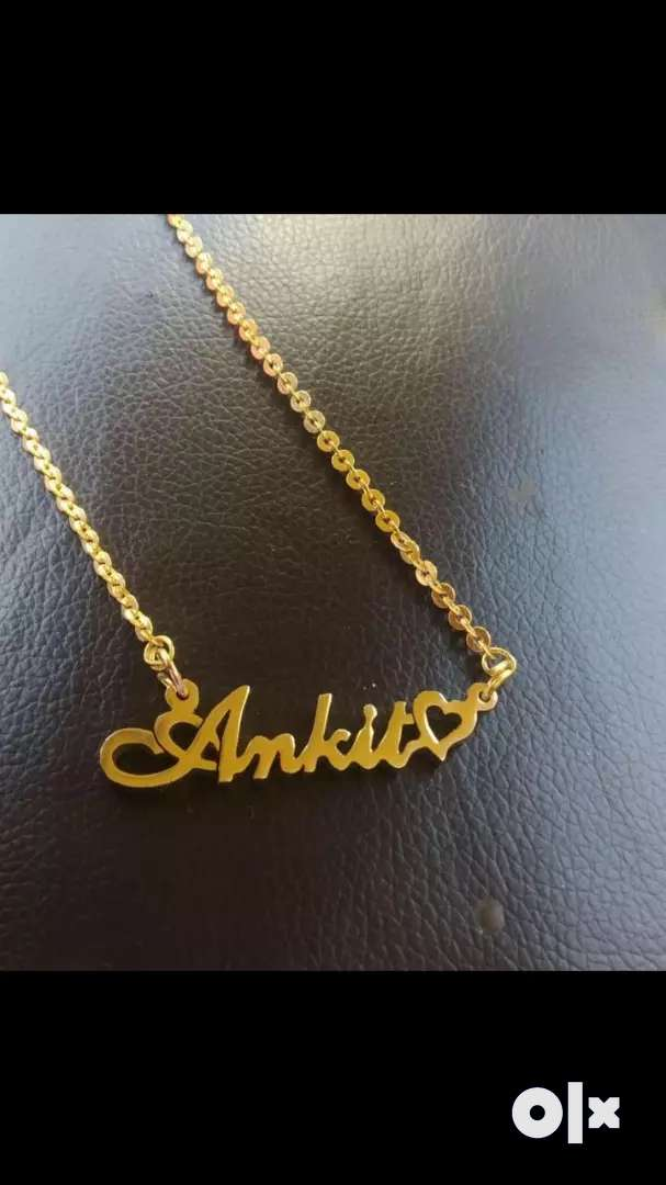 Customised name pendents 0