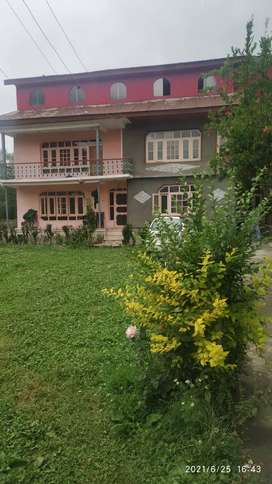 Well maintained house on sale with 2 kanal land
