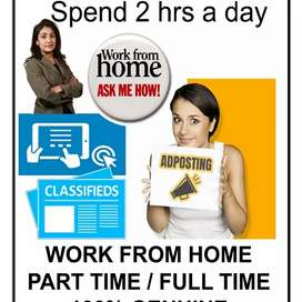 Great opportunity work from home
