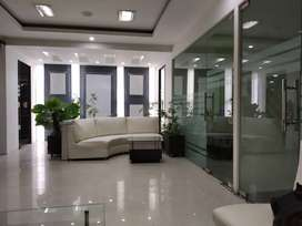 fully furnished luxury office  rent   for MNC 7000 sq.ft