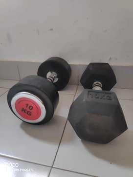 Dumbells 10kgs