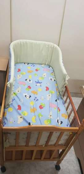 Baby Cot with Ad ons