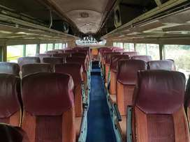 55 seated semi push back 3*2 bus for sale