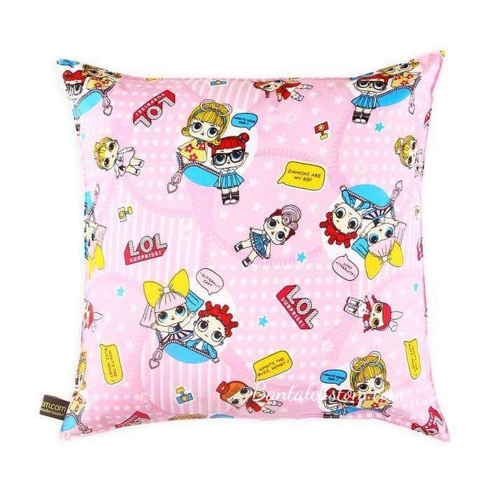 Sarung Bantal Sofa Motif Anak LOL SURPIRSE #Pink 0